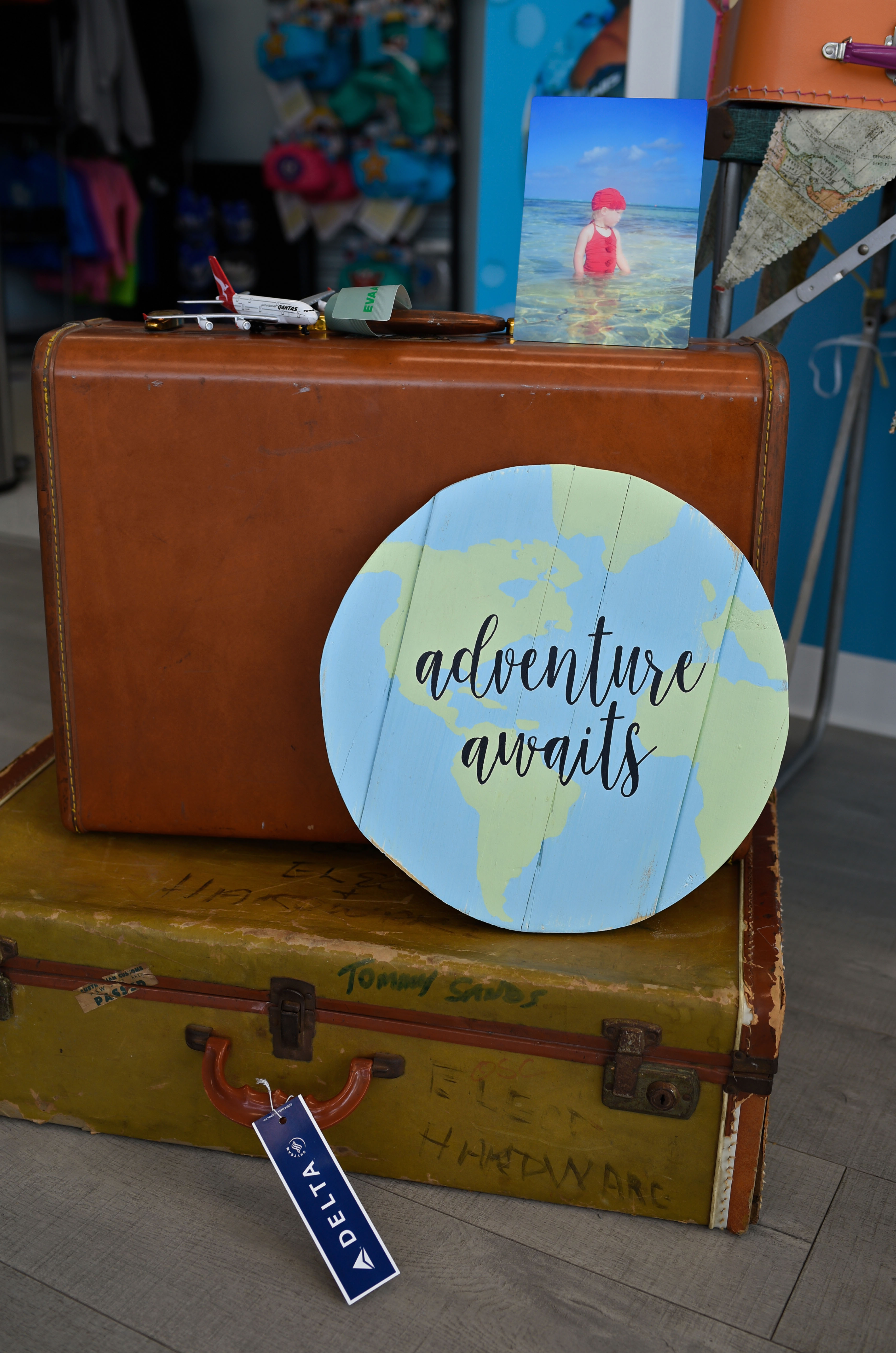 travel themed party
