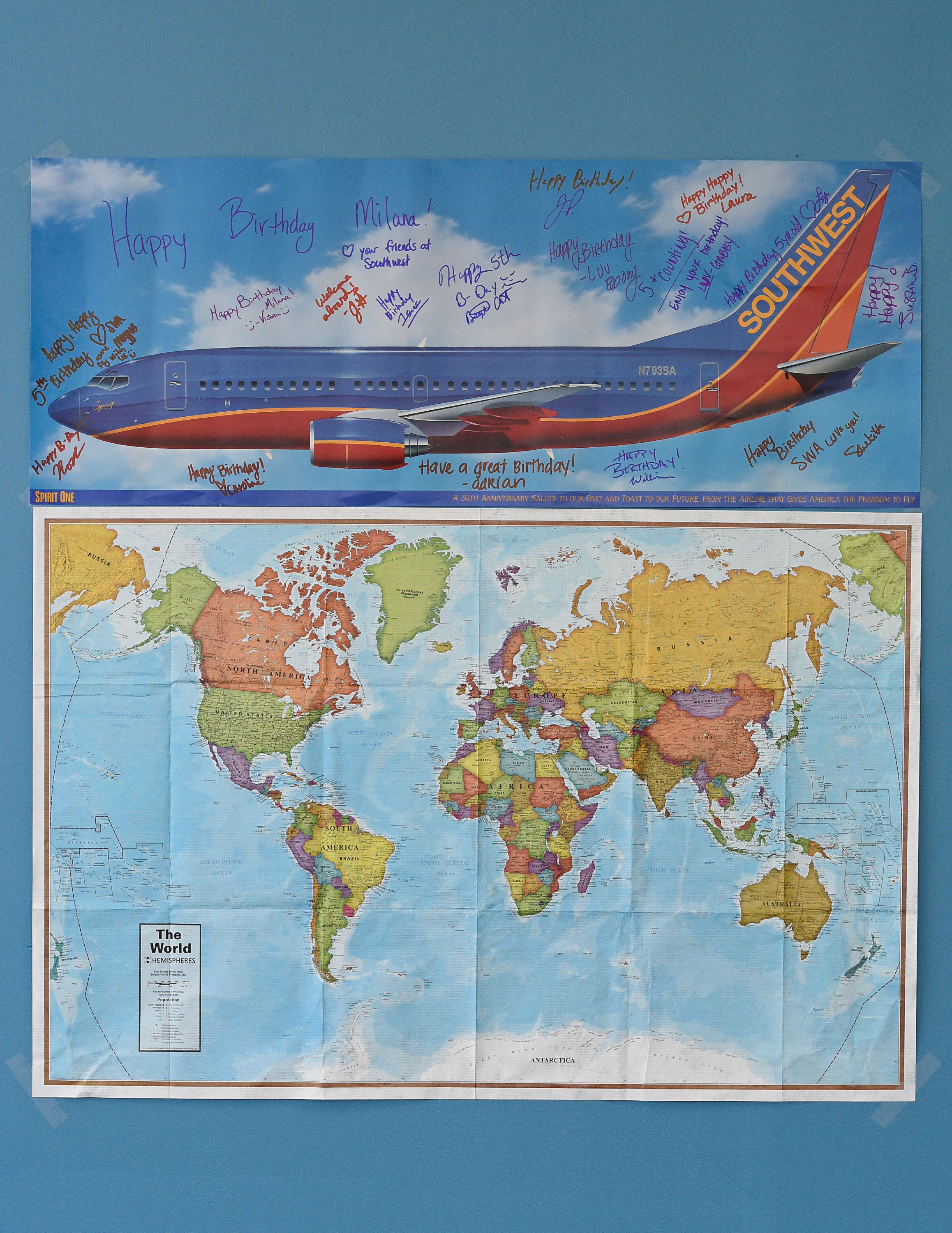 southwest airlines poster