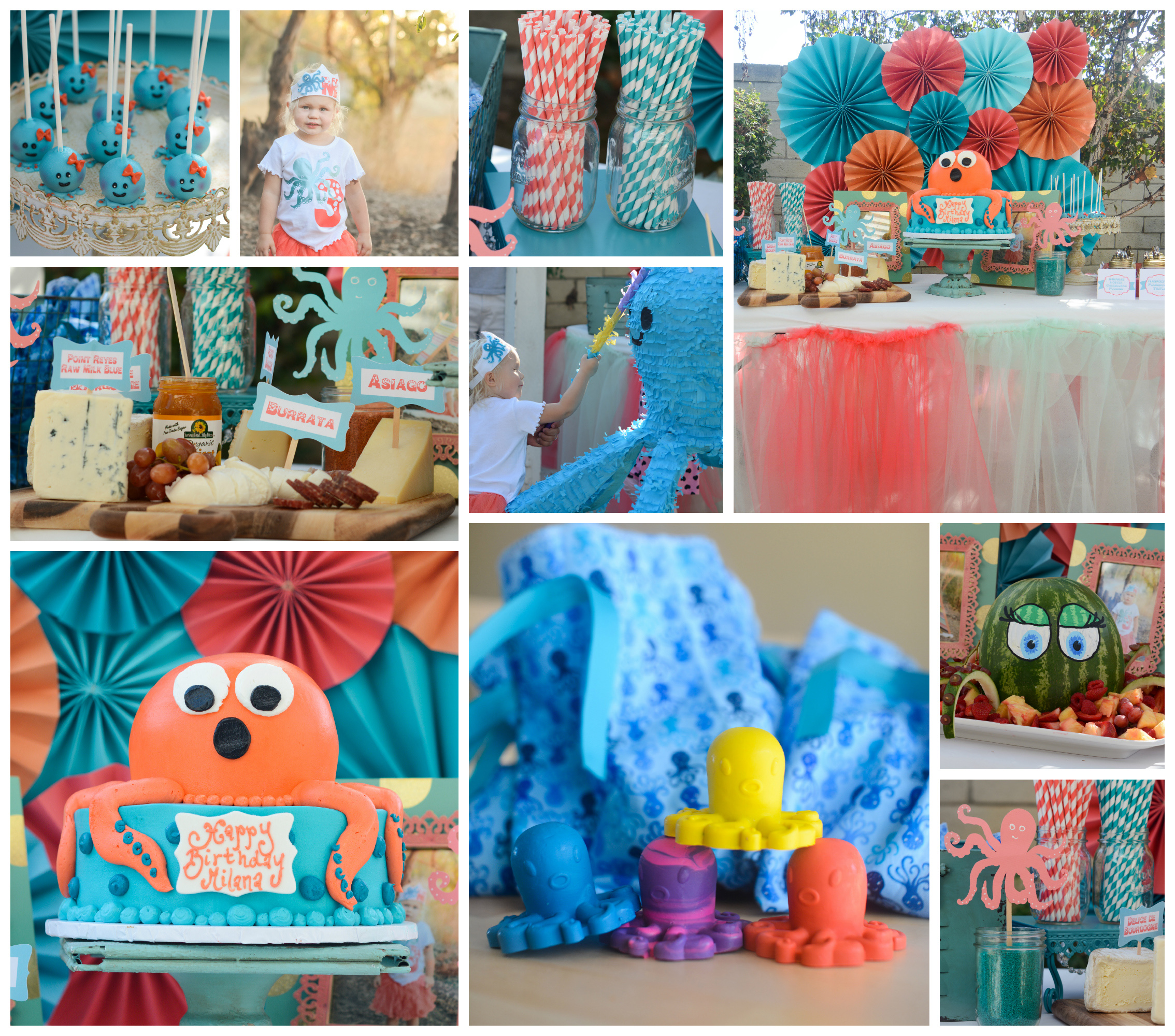 octopus themed party
