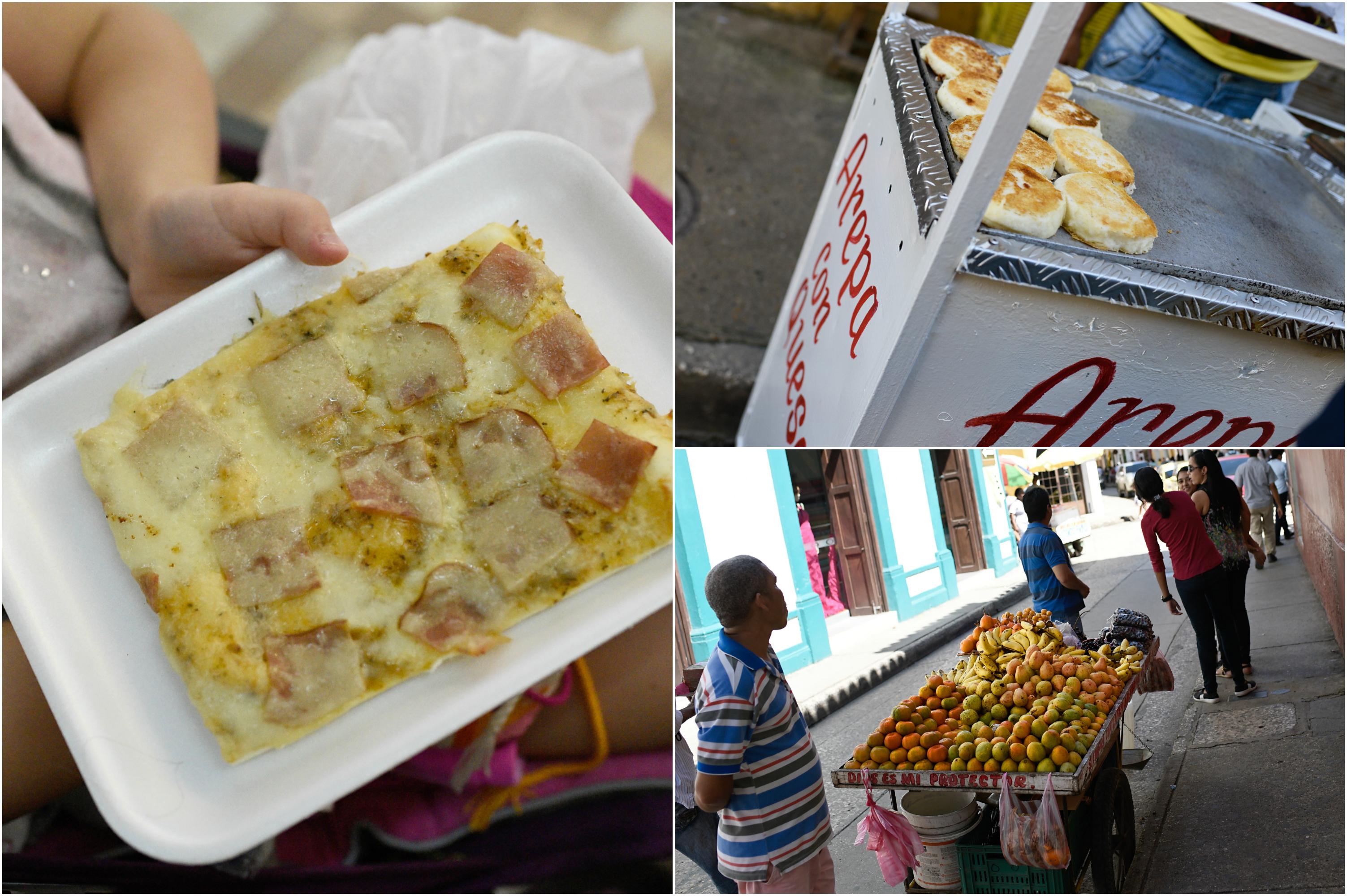 Cartagena street food