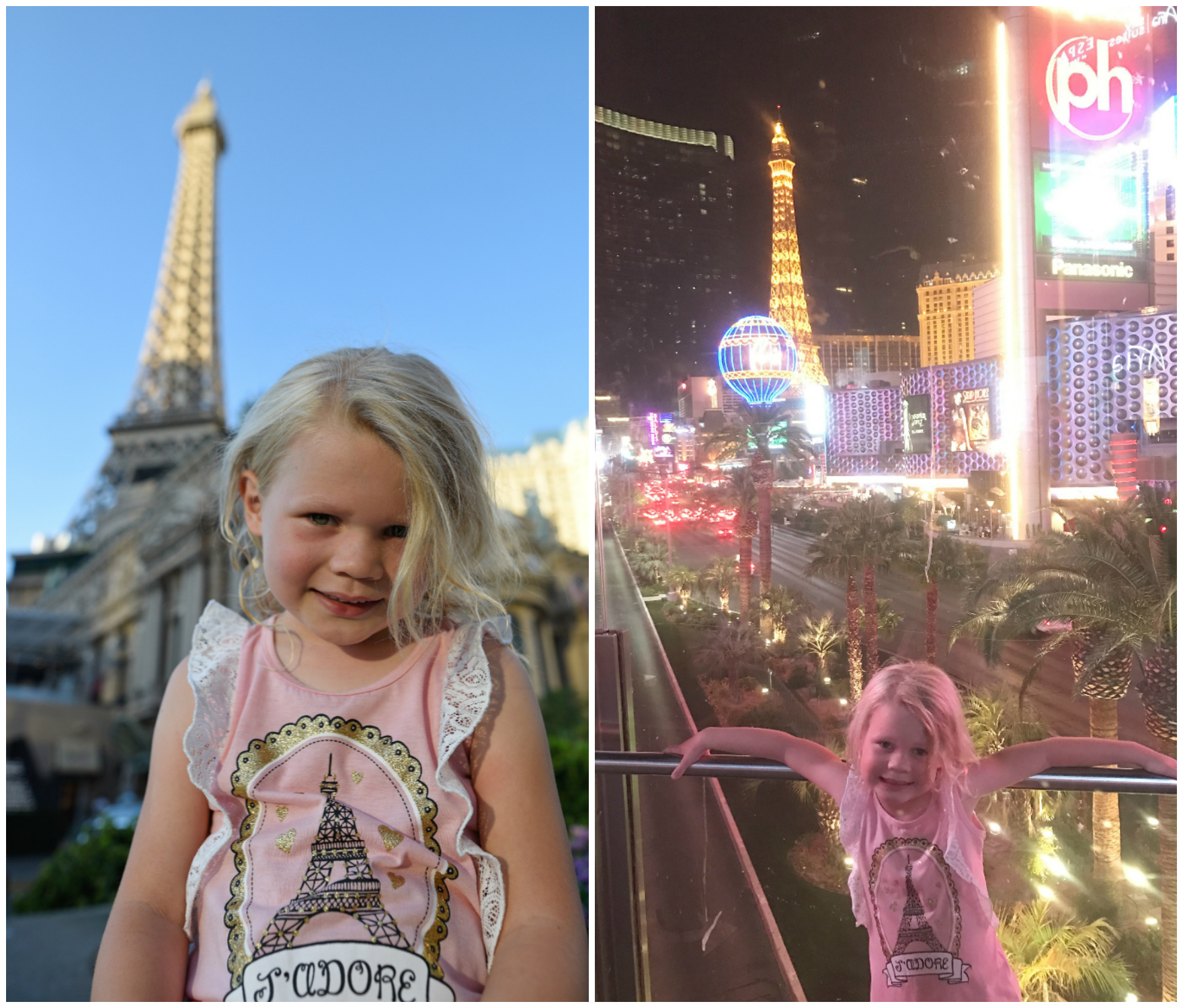 Las Vegas with kids itinerary