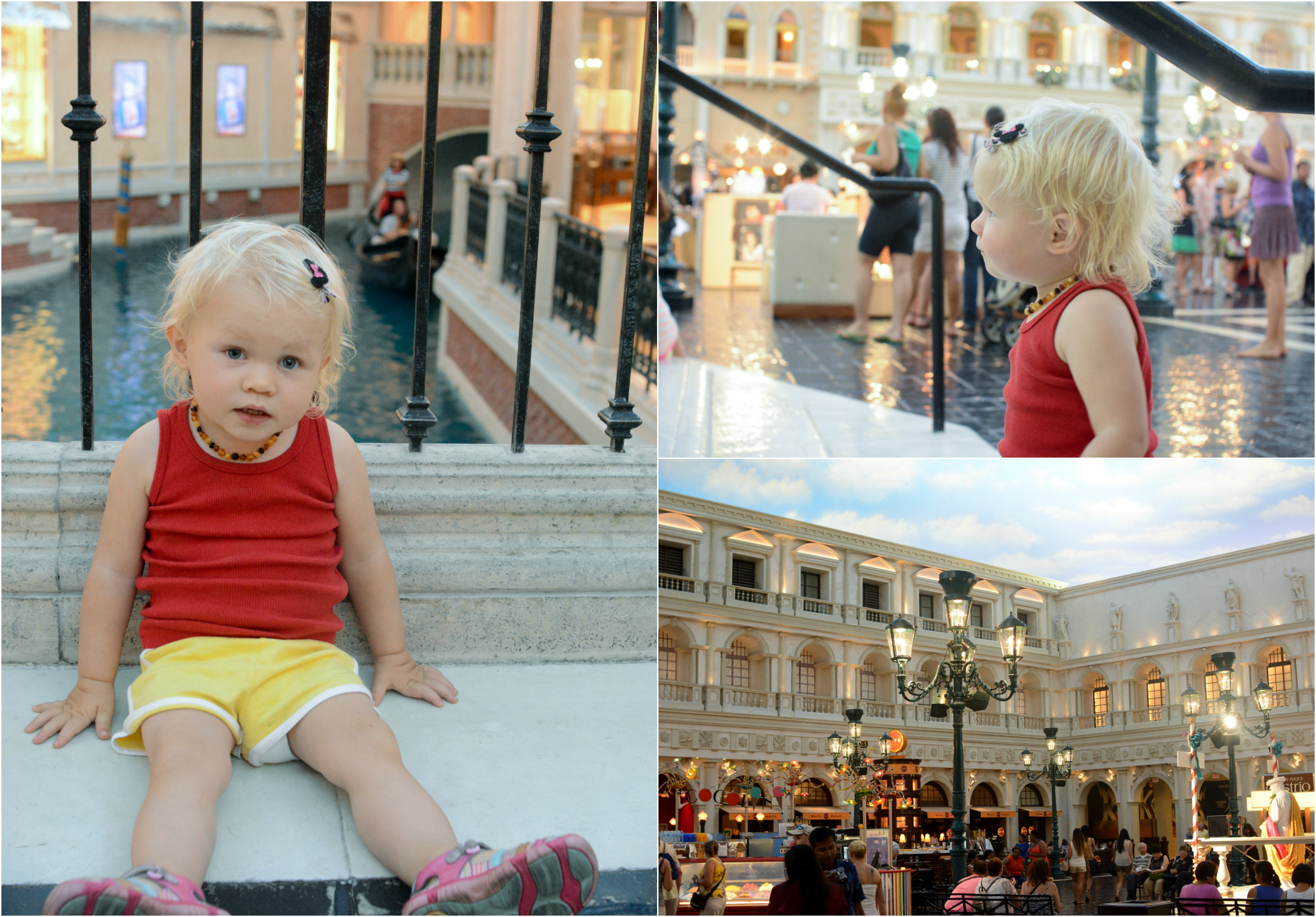 Las Vegas with baby toddler itinerary