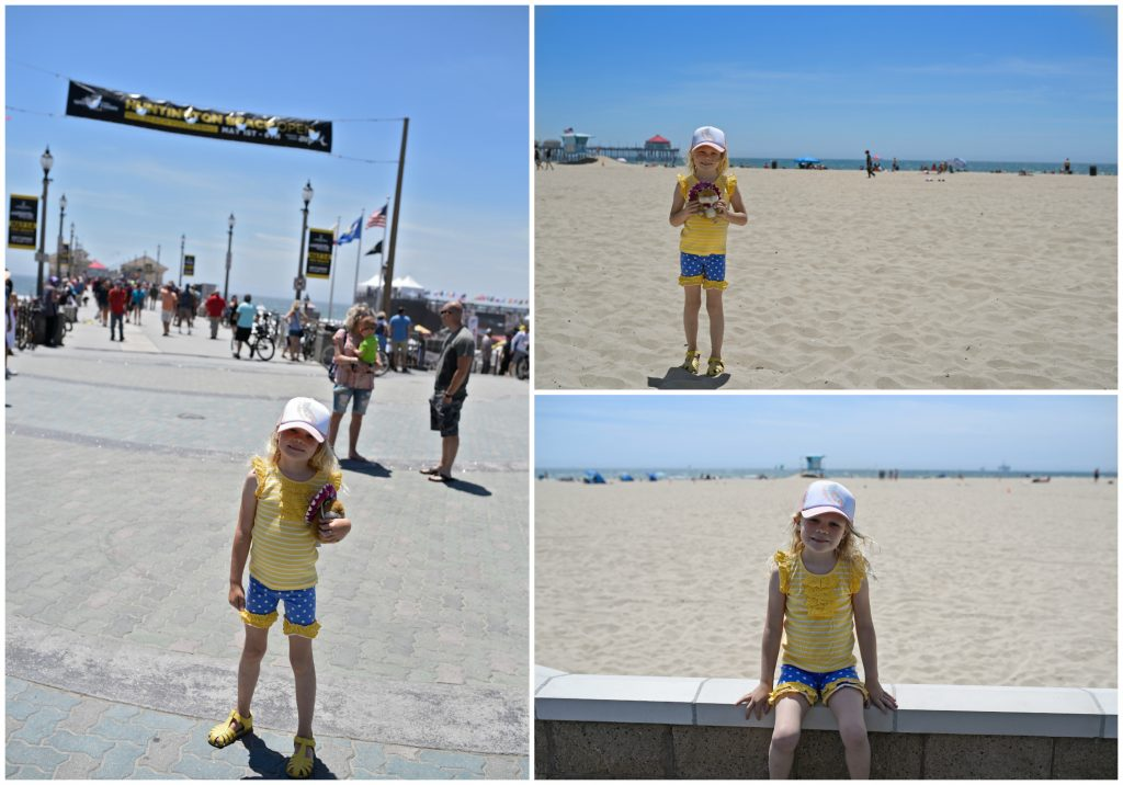 huntington beach with kids