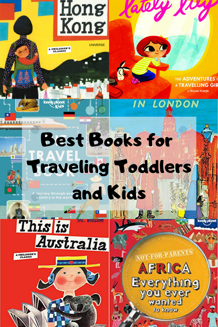 Best Travel Themed Books For Toddlers and Kids