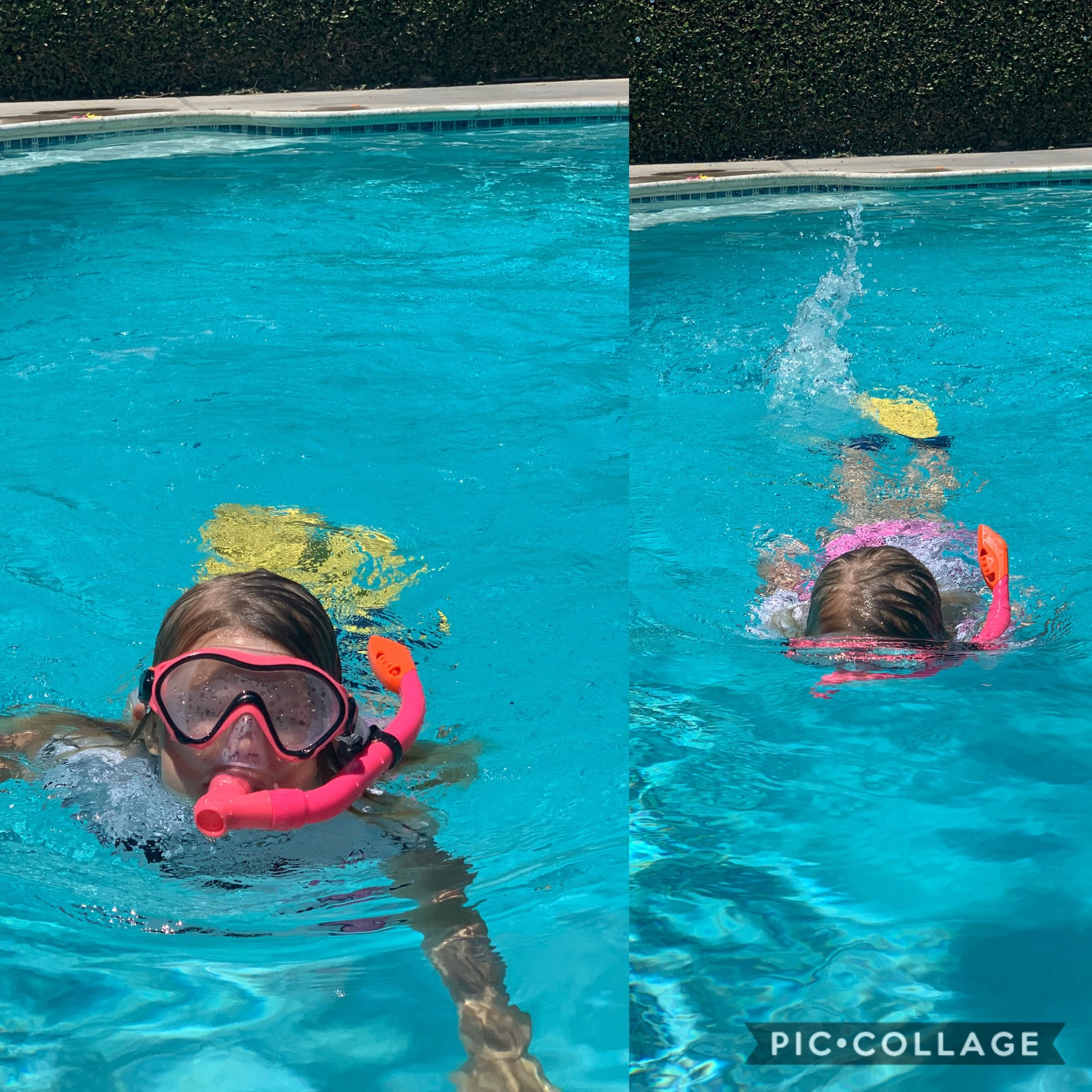 kids snorkel set, kids fins, kids snorkeling