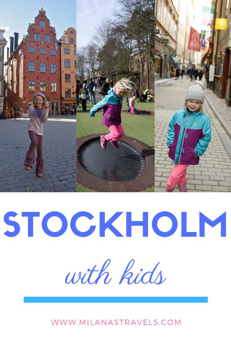 Stockholm Itinerary with Kids