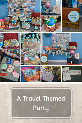 Travel Themed Birthday Party Wedding