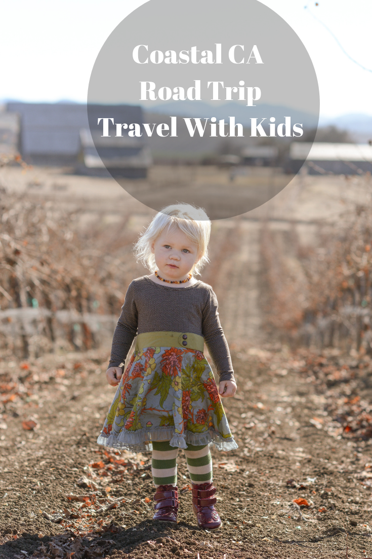 Coastal California Road Trip With Kids