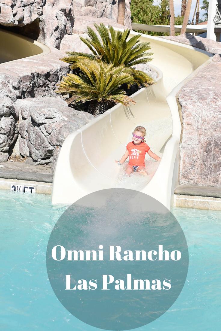 Omni Rancho Las Palmas Water Park Hotel Palm Springs