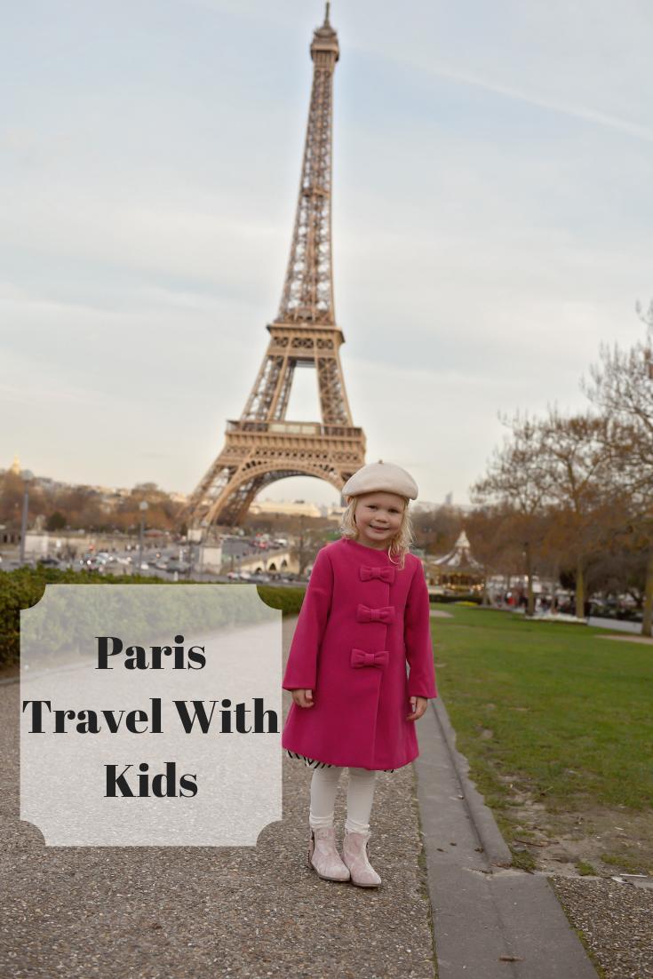 Paris Itinerary With Kids