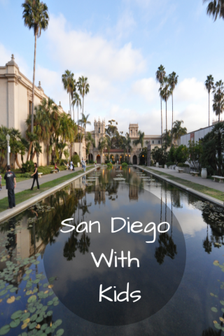 San Diego with kids itinerary