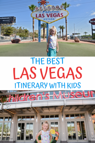 Las Vegas Itinerary with Kids