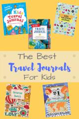 Best travel journal for kids