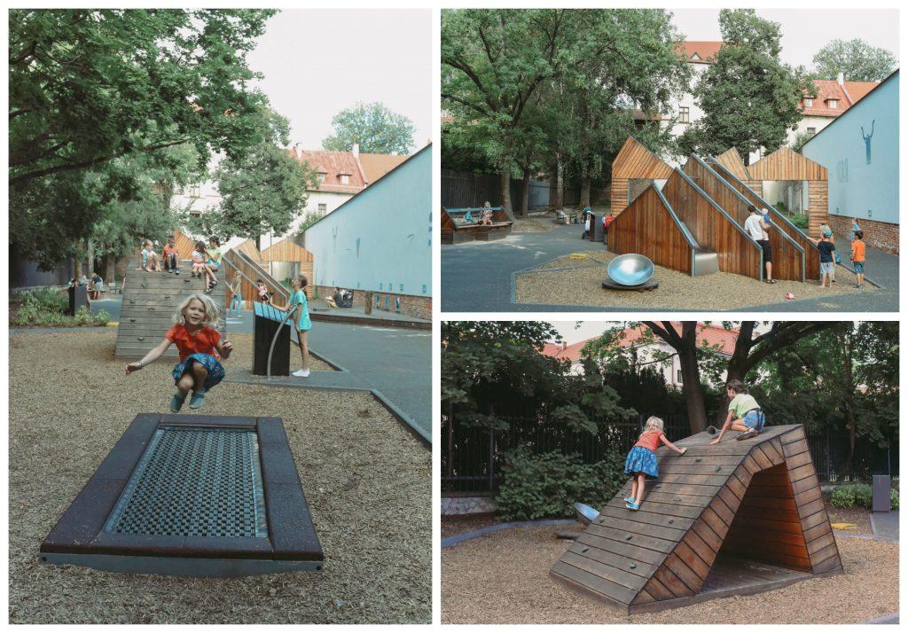 archaeological park playground krakow