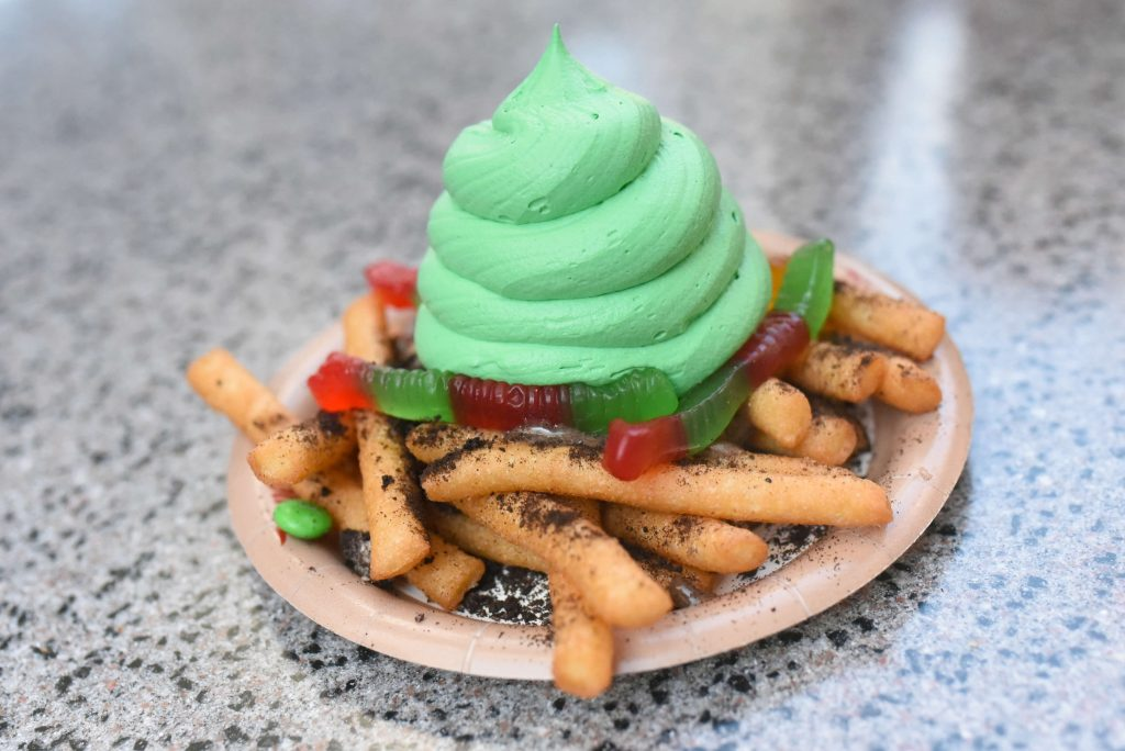 Oogie's Worm and Dirt Funnel Fries