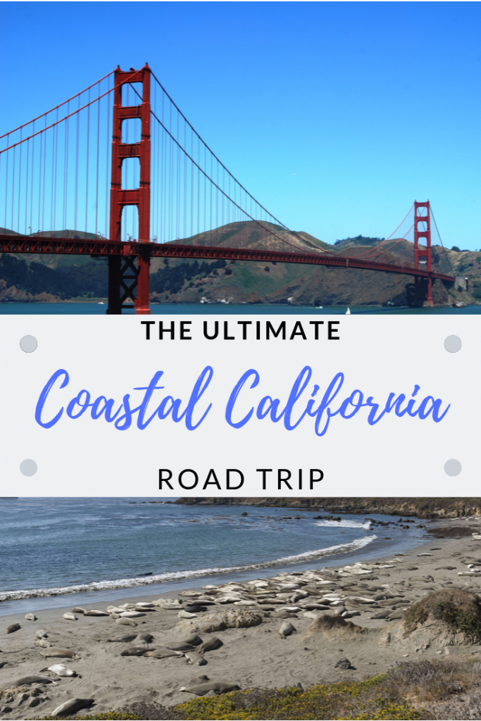 Coastal California road trip best stops