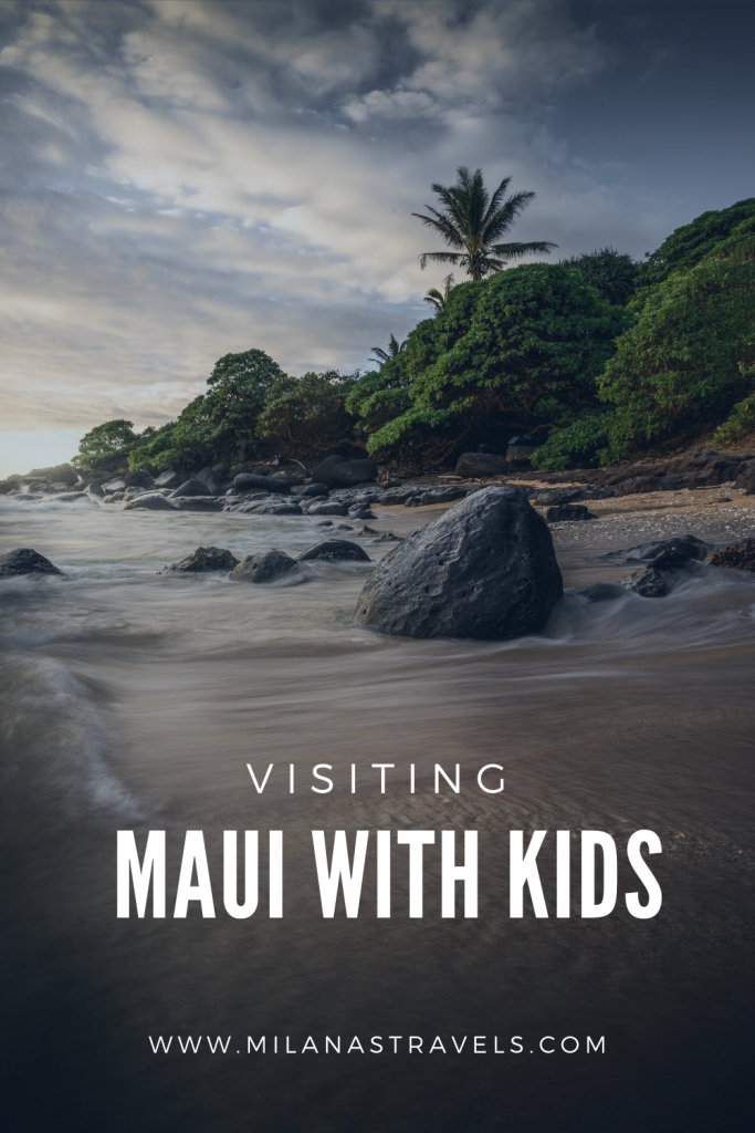 visiting maui with kids