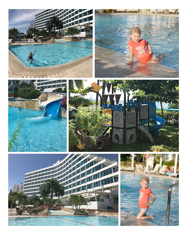Cartagena Hilton pool area