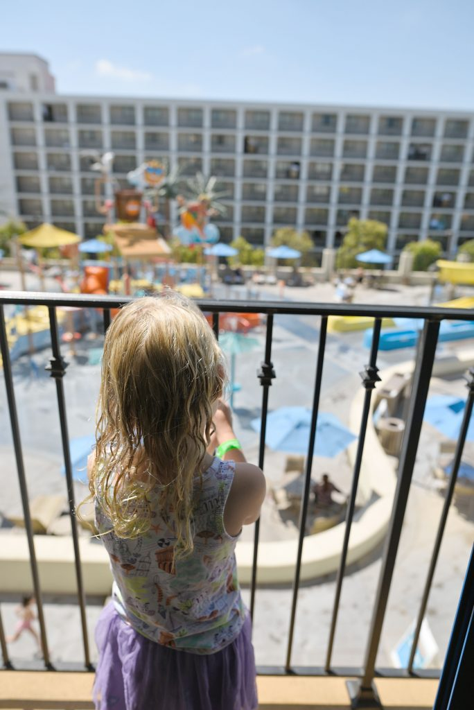 courtyard anaheim water park view