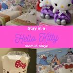 Hello Kitty hotel room in Tokyo Keio Plaza