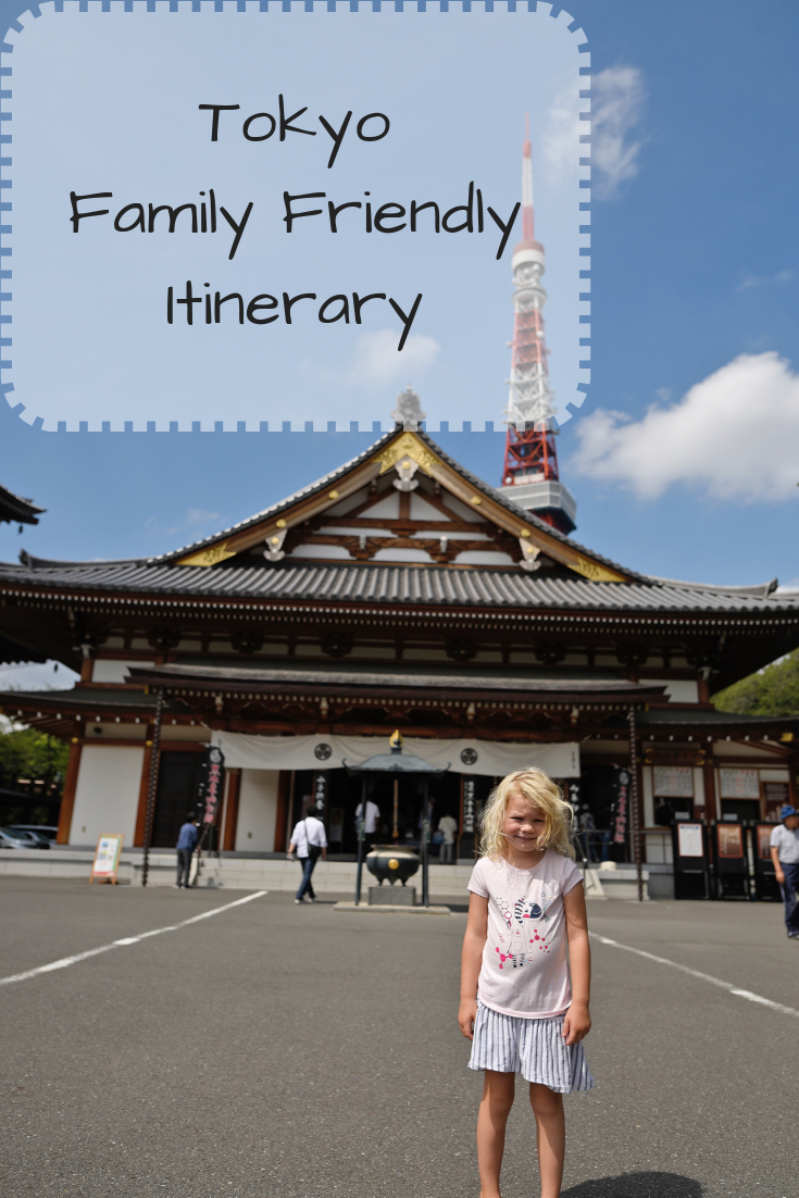 Tokyo Itinerary with kids