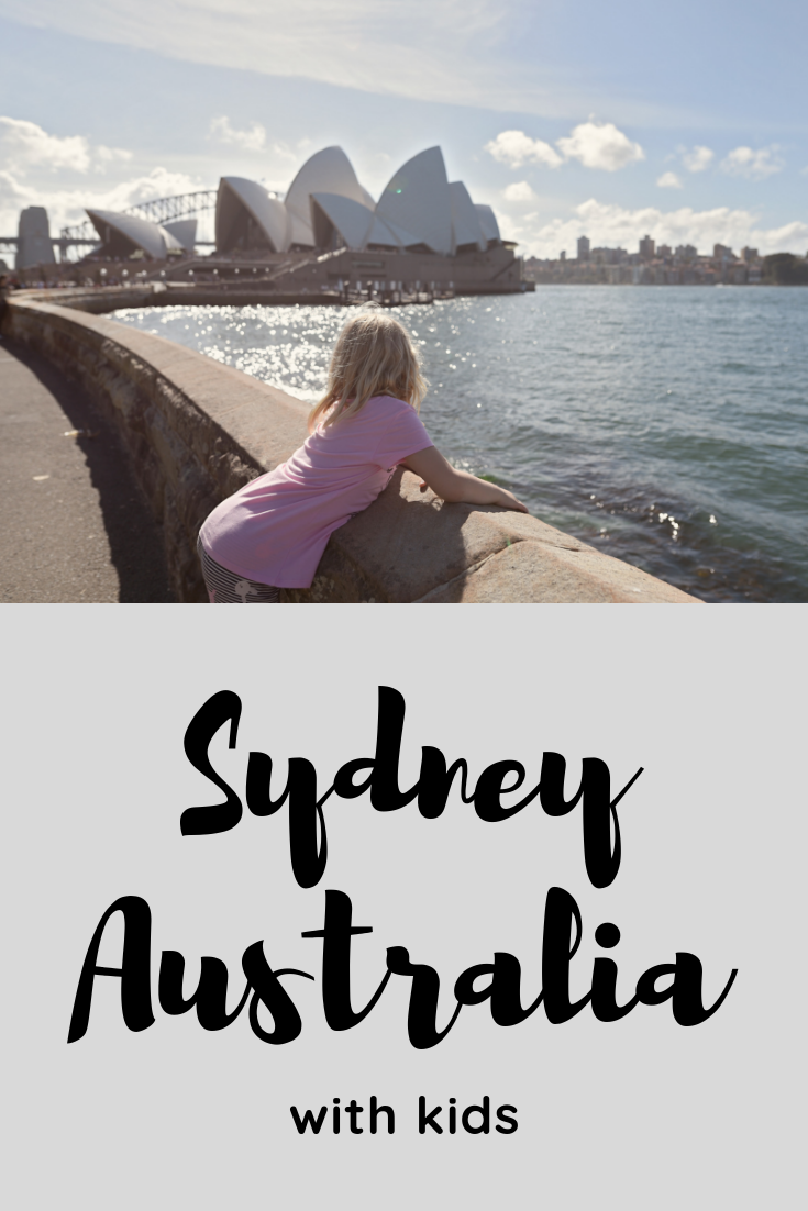 Sydney with kids, Sydney 7 day itinerary