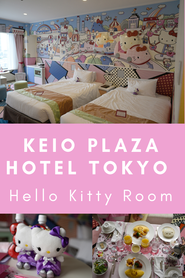Keio Plaza Hello Kitty Room Review, Themed Hotel Tokyo Japan