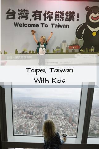 Taipei, Taiwan Itinerary With Kids