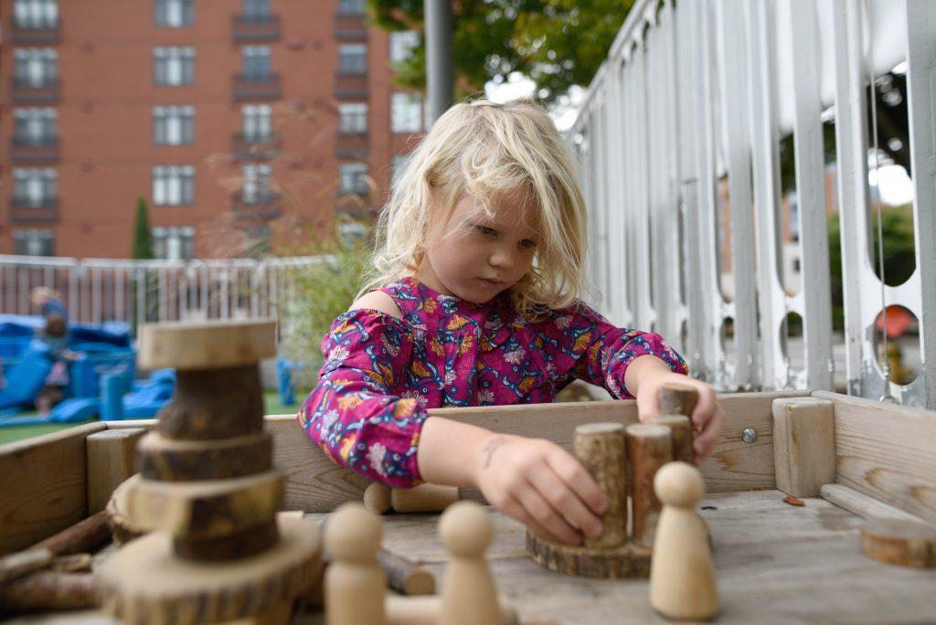 KidsQuest children's museum outdoor area