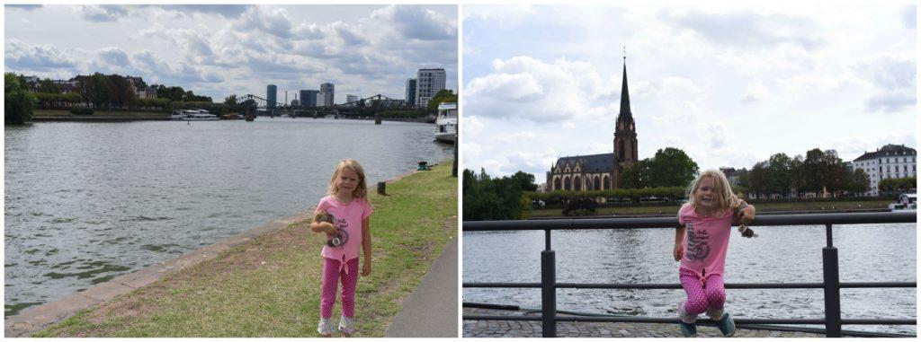 Frankfurt River walk