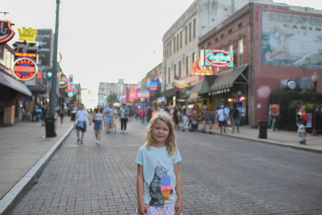 Beale Street with kids
