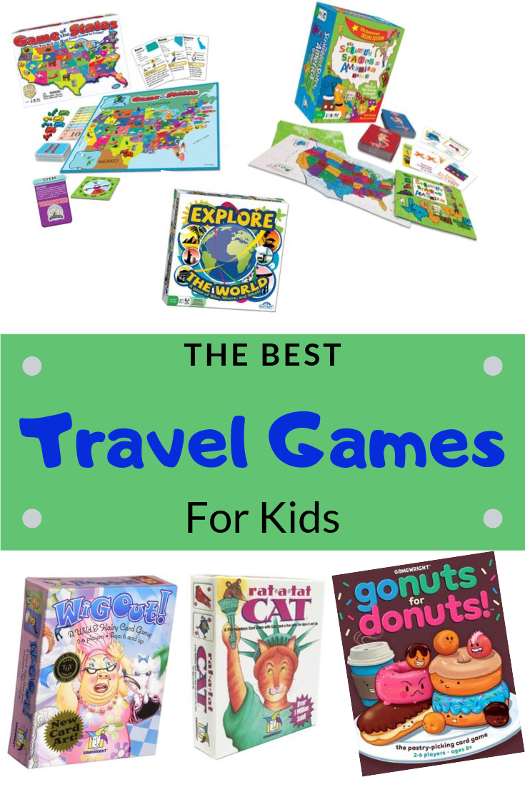 The Best Travel Games for Kids