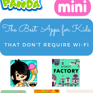 apps for kids that don't require wifi