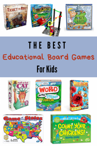 best educational board games for kids