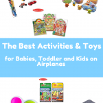 what to pack for babies, toddlers and kids on airplanes