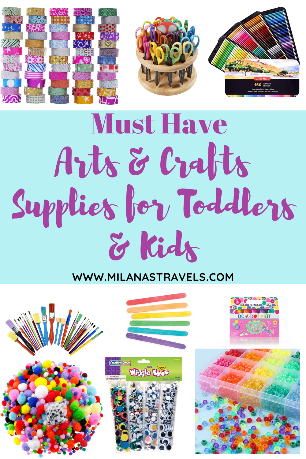 Best arts and crafts supplies for kids