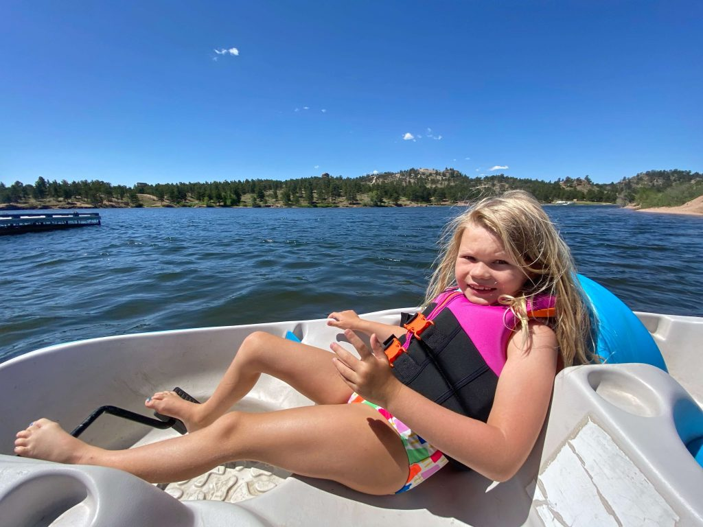 curt gowdy pedal boat rentals