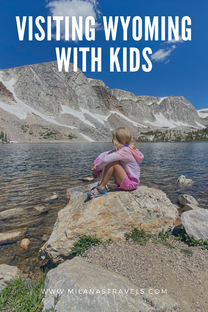 Wyoming road trip with kids