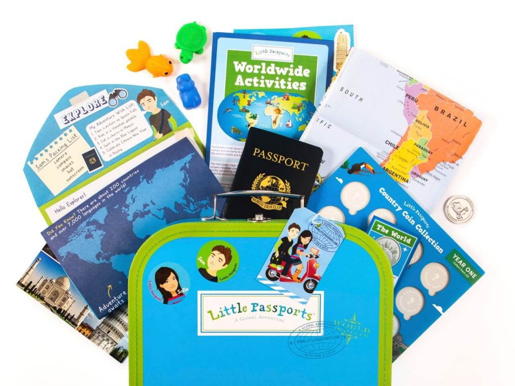 best geography subscription box for kids