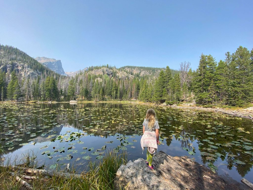 Best kid friendly hiking trails rocky mountain national park