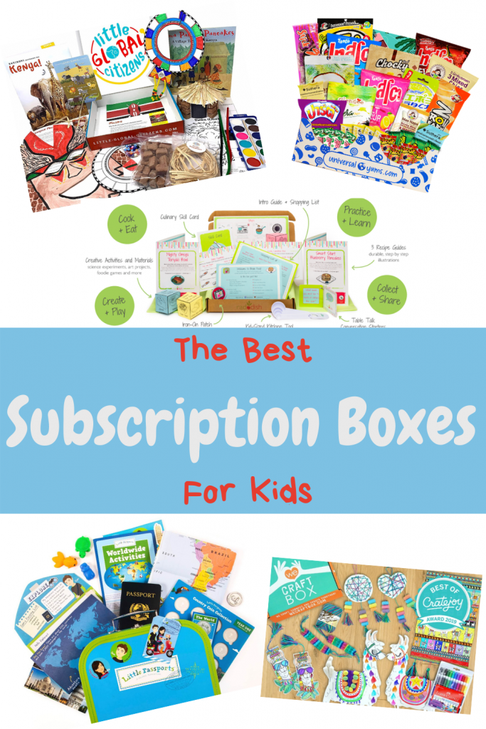 the best subscription boxes for kids
