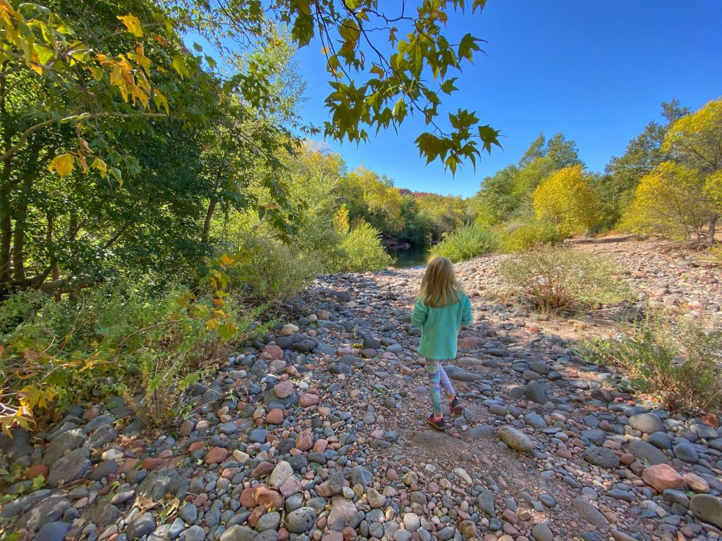best family kid hiking trails sedona