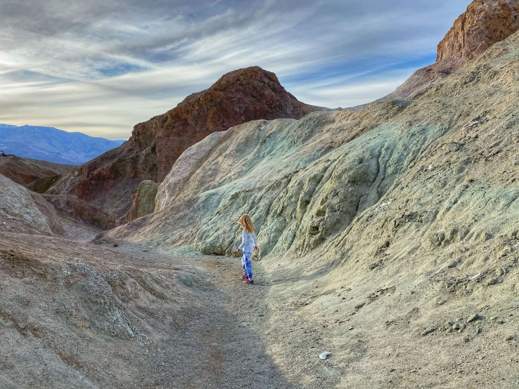 best hiking trails with kids death valley