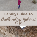 death valley family trip