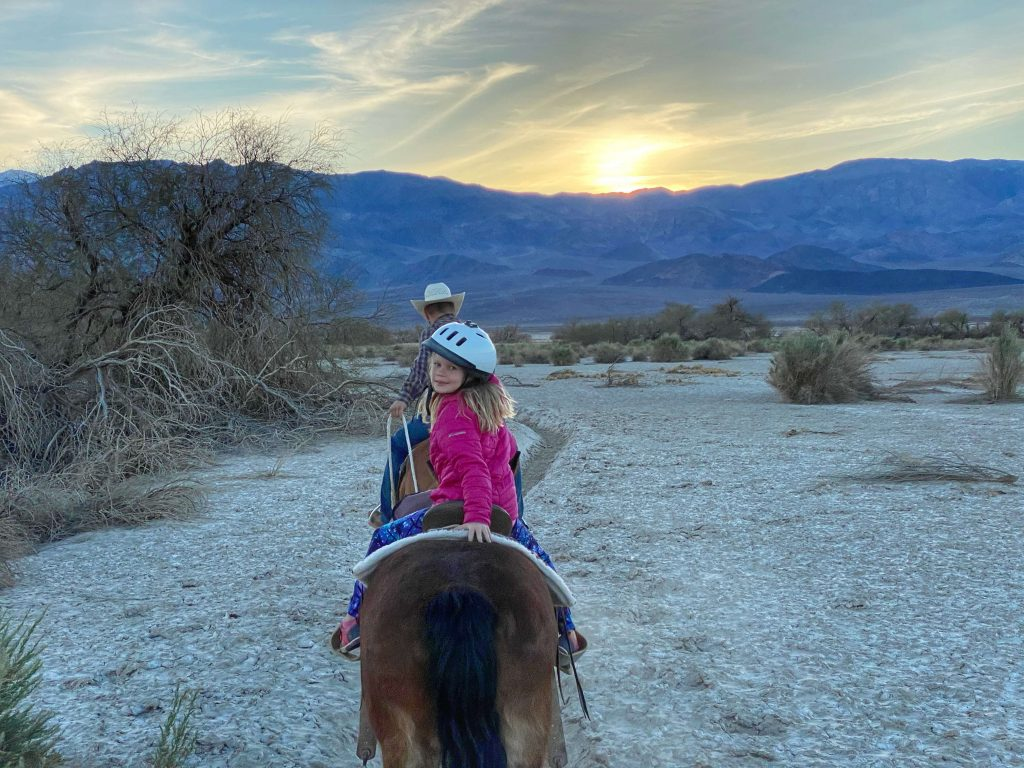 death valley horseback riding