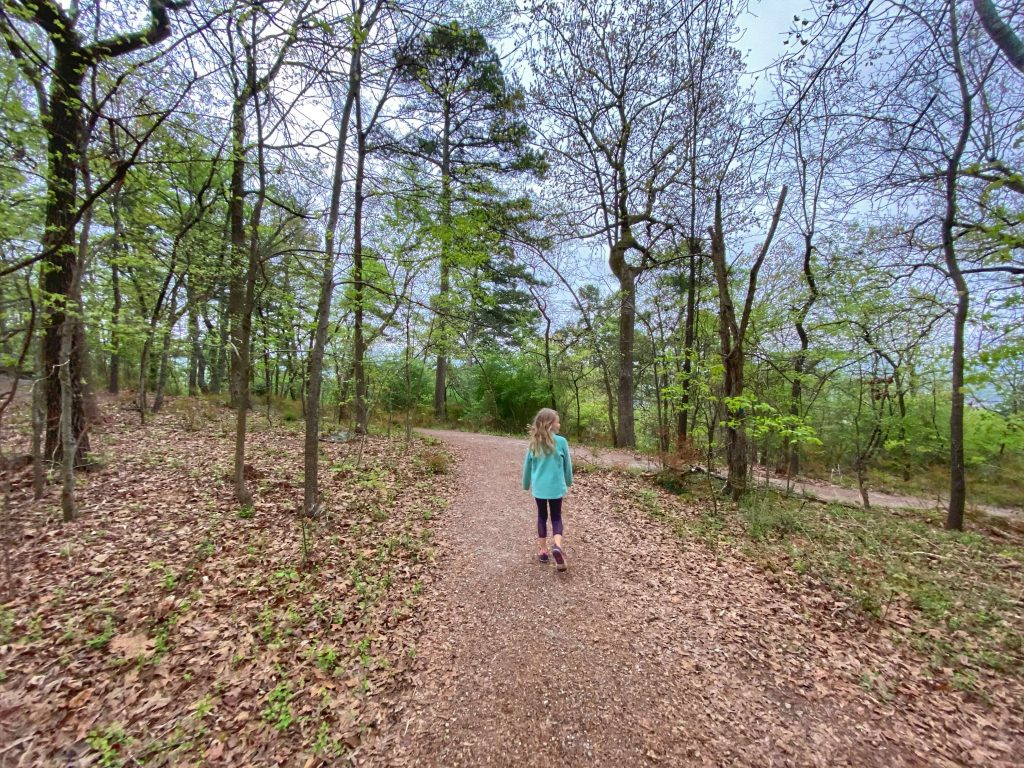 best kid family friendly hiking trails in hot springs national park