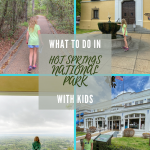 what to do in hot springs with kids
