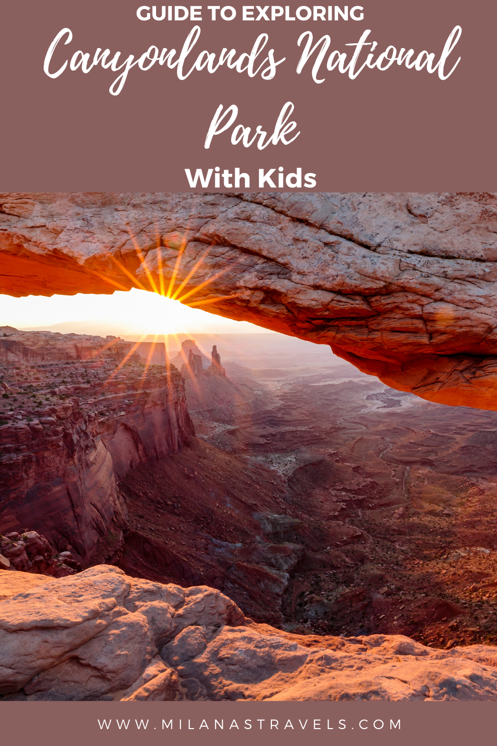 canyonlands with kids