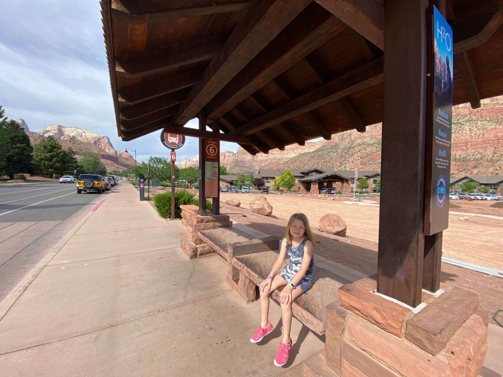 visiting zion with kids