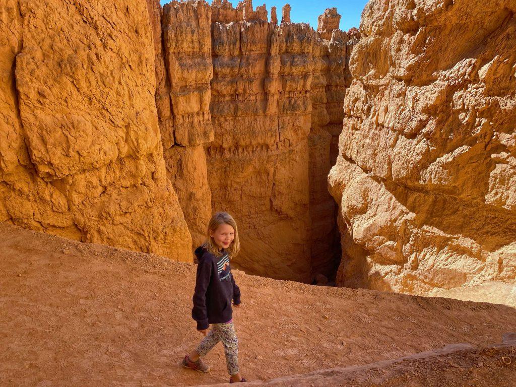 kid friendly hiking trails bryce canyon